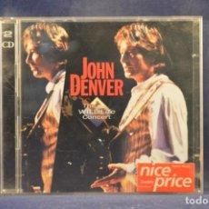 CDs de Música: JOHN DENVER - THE WILDLIFE CONCERT - 2 CD. Lote 262209785