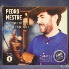 CDs de Música: PEDRO MESTRE - CAMPANIÇA DO DESPIQUE - CD. Lote 262218365