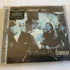 CDs de Música: DOBLE CD CD METALLICA GARAGE INC. Lote 262272290