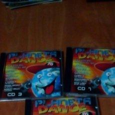 CDs de Música: PLANETA DANCE 96 . 3 CD CON 30 TEMAS. Lote 262276160