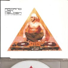 CDs de Música: ARMANO VAN HELDEN - WHY CAN'T U PRESS SOME TIME (CDSINGLE CAJA, ARMED RECORDS 2001). Lote 262277890