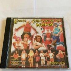CDs de Música: CD CHIRIGOTA CARNAVAL DE CADIZ 2004 - ESTO ES CADI Y AKI HAY QUE MAMA - KIKE REMOLINO CASCANA. Lote 262278910