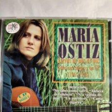 CD de Música: 2 CDS MARIA OSTIZ EXITOS DE DOS EN DOS. Lote 262290745