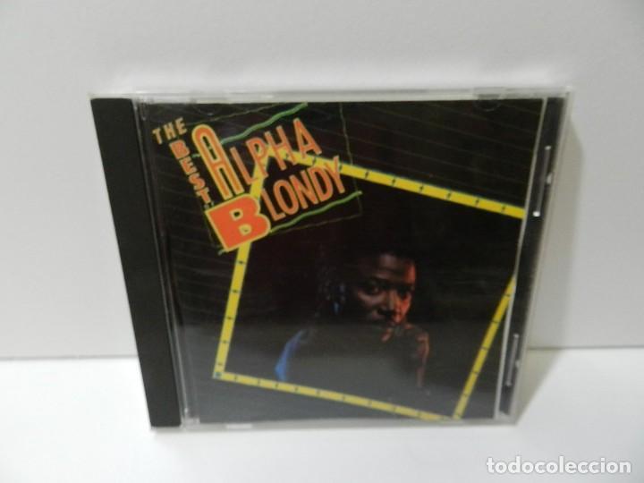 DISCO CD. ALPHA BLONDY – THE BEST OF ALPHA BLONDY. COMPACT DISC. (Música - CD's Reggae)