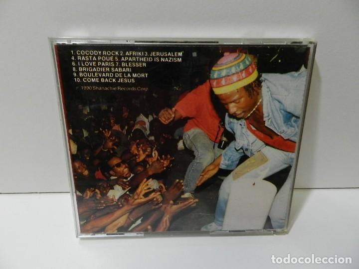 CDs de Música: DISCO CD. Alpha Blondy – The Best Of Alpha Blondy. COMPACT DISC. - Foto 2 - 288010678