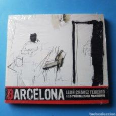 CDs de Música: CD BARCELONA LEON CHQVEZ TEIXEIRO/L@S PROFUG@S DEL MANIKOMIO. Lote 262389835