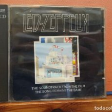 CDs de Música: LED-ZEPPELIN. Lote 262395980