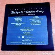 CDs de Música: THE BYRDS FARTHER ALONG CD ALBUM PROMO CARTON DEL AÑO 1990 USA CONTIENE 14 TEMAS ROGER MCGUINN. Lote 262443315