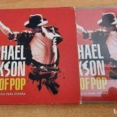 CDs de Música: MICHAEL JACKSON KING OF POP PORTADA UNICA PARA ESPAÑA CD ALBUM DEL AÑO 2009 SOBRECUBIERTA 17 TEMAS. Lote 262449985