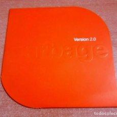 CDs de Música: GARBAGE VERSION 2.0 CD ALBUM PROMO CARTON DEL AÑO 1998 UK ENCARTE CD ROM CONTIENE 12 TEMAS. Lote 262451115