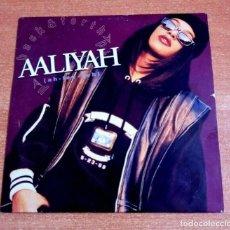CDs de Música: AALIYAH BACK & FORTH REMIXES CD MAXI SINGLE PROMO ESPAÑA DEL AÑO 1994 PORTADA DE CARTON 4 TEMAS. Lote 262459525