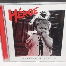 CDs de Música: TOTE KING Y SHOTTA - HEROE 2012 BUEN ESTADO DIFICIL. Lote 262462715