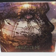 CDs de Música: NACH - A TRAVES DE MI DIGIPACK MUY BUEN ESTADO 2015. Lote 262462985