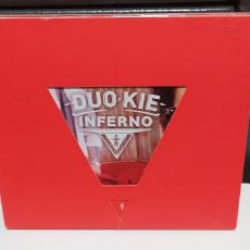 CDs de Música: DUO KIE - INFERNO EDICION LIMITADA NUMERADA Nº 04413 DIGIPACK BUEN ESTADO. Lote 262463290