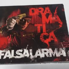 CDs de Música: FALSALARMA - DRAMATICA DIGIPACK 2011 BUEN ESTADO MUY DIFICIL. Lote 262463685