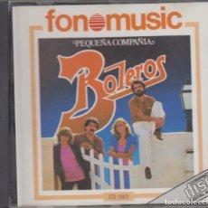 CDs de Música: PEQUEÑA COMPAÑÍA CD BOLEROS 1986 FONOMUSIC. Lote 262483420