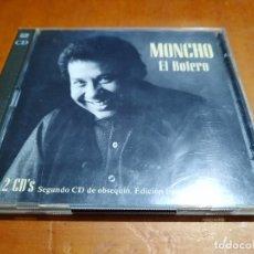 CDs de Música: MONCHO. EL BOLERO. DOBLE CD. EDICIÓN LIMITADA. DOBLE CD EN BUEN ESTADO. Lote 262491590