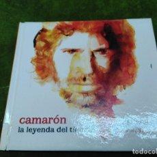 CDs de Música: LA LEYENDA DEL TIEMPO - CAMARON DE LA ISLA -JOYAS DEL FLAMENCO UNIVERSAL EL PAIS- 2008 -LIBRO+CD. Lote 262501185