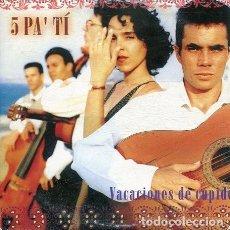 CDs de Música: 5 PA' TI / VACACIONES DE CUPIDO (CD SINGLE CARTON PROMO 2000). Lote 262510405