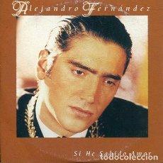 CDs de Música: ALEJANDRO FERNANDEZ / SI HE SABIDO AMAR (CD SINGLE CARTON PROMO 1999). Lote 262510835