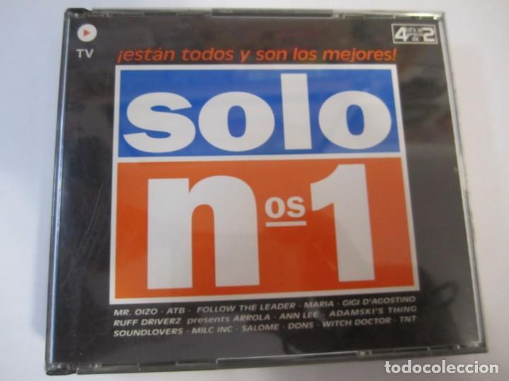 LOTE 4 CD SOLO NºS 1 ESTAN TODOS Y SON LOS MEJORES (Música - CD's Otros Estilos)
