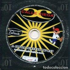 CDs de Música: CALLE CIEGA / CON LA PUNTA DEL PIE (CD SINGLE CARTON PROMO). Lote 262512595