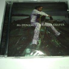 CDs de Música: MS. DYNAMITE - A LITTLE DEEPER - ( CD NUEVO PRECINTADO ) 2003. Lote 262508065