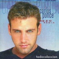 CDs de Música: CARLOS PONCE / REZO - 3 VERSIONES (CD SINGLE CARTON PROMO 1998). Lote 262513220