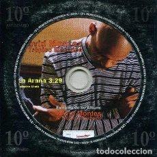 CDs de Música: DAVID MONTES & TROPICO ELECTRICO / LA ARAÑA (CD SINGLE PICTURE PROMO 1999). Lote 262514450