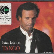 CDs de Música: JULIO IGLESIAS - TANGO (2XCD CBS/SONY 1996) EDICION LIMITADA PARA EL CORTE INGLES. Lote 262527140