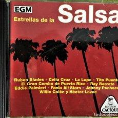 CDs de Música: VARIOUS - ESTRELLAS DE LA SALSA. Lote 262543505