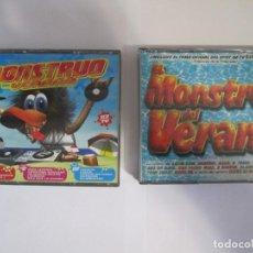 CDs de Música: LOTE 7 CD EL MONSTRUO DEL VERANO RADIO TV DISCOTECA HOUSE DANCE. Lote 262550340