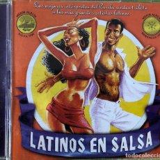 CDs de Música: VARIOUS - LATINOS EN SALSA - DOBLE CD. Lote 262562945