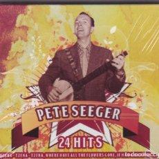 CDs de Música: PETE SEEGER 24 HITS CD¨S SIN DESPRECINTAR 2 CD´S VER FOTO ADICIONAL. Lote 262575925