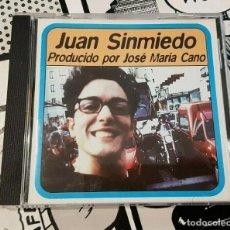 CDs de Música: JUAN SINMIEDO (PRODUCIDO POR JOSE MARIA CANO-MECANO). Lote 262576195