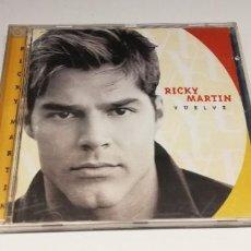 CDs de Música: L3- RICKY MARTIN - VUELVE- CD DISC VG PORT VG/ENVIO DESDE ESPAÑA. Lote 262584905
