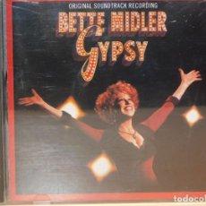 CDs de Música: CD BETTE MIDLER *GYSY* OBERTURA Y 16 CANCIONES. ATLANTIC RECORDING 1993. Lote 262600860