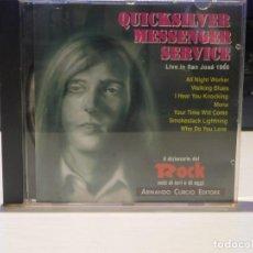 CDs de Música: CD QUICKSILVER *MESSENGER SERVICE* 1991 ARMANDO CURCIO EDITORE.. Lote 262601625