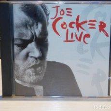 CDs de Música: CD JOE COCKER *LIVE* 15 TEMAS. CAPITOL RECORDS 1990. Lote 262604580