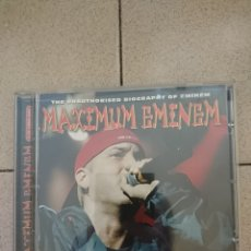 CDs de Música: EMINEM - MAXIMUM EMINEM. Lote 262608955