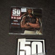 CDs de Música: 2 CDS SINGLES PROMO DE 50 CENT. 5 + 1 TRACKS. VER FOTOS. Lote 262627390