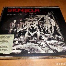 CDs de Música: STONE SOUR CD/DVD SPECIAL EDITION 2006 +6 BONUS -SLIPKNOT-IRON MAIDEN-METALLICA-DISTURBED. Lote 262636295