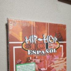 CDs de Música: HIP-HOP ESPAÑOL. VOLUMEN 4. CD + DVD. PRECINTADO.. Lote 262670925