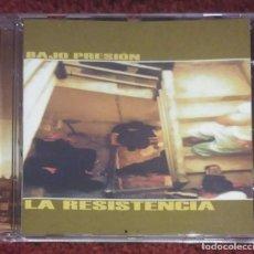 CDs de Música: LA RESISTENCIA (BAJO PRESION) CD 2001. Lote 262717960