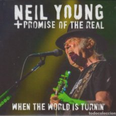 "CDs de Música: NEIL YOUNG "" WHEN THE WORLD IS TURNIN '"" 2 CD DIGIPACK. Lote 262797140"