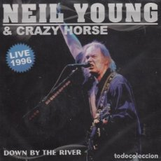 "CDs de Música: NEIL YOUNG "" DOWN BY THE RIVER "" CD. Lote 262800350"