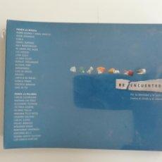 CDs de Música: REENCUENTROS POR LA IDENTIDAD Y LA JUSTICIA CONTRA EL OLVIDO Y EL SILENCIO CONTAMÍNAME 2007. Lote 262801525