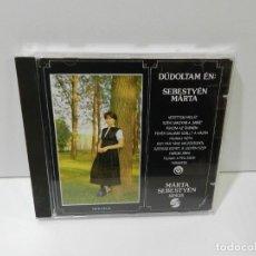 CDs de Música: DISCO CD. MÁRTA SEBESTYÉN - DÚDOLTAM ÉN: SEBESTYÉN MÁRTA / MÁRTA SEBESTYÉN SINGS. COMPACT DISC.. Lote 262832925