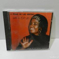 CDs de Música: DISCO CD. A PESAR DE LAS HERIDAS (CANTOS DE LAS MUJERES SAHARAUIS). COMPACT DISC.. Lote 262834050