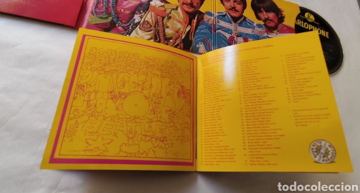 CDs de Música: THE BEATLES---SGT. PEPPER,S LONELY HEARTS CLUB BAND - Foto 9 - 262853485